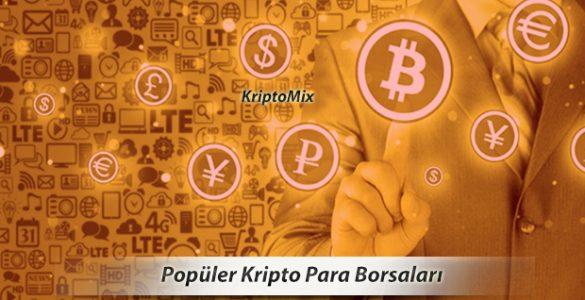 bitcoin ve kripto para borslaarı