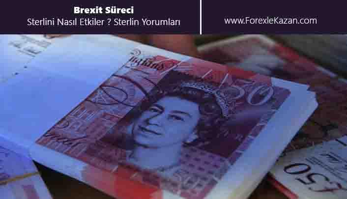 sterlin ne olur, brexit süreci sterlini nasıl etkiler